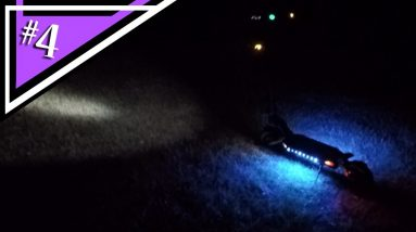 Kaabo Mantis Pro Special Edition LED Underglow Night Time Cruising (GoPro Motorcycle Helmet POV)