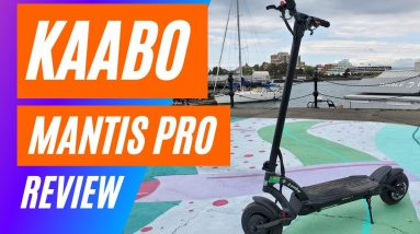 Kaabo Mantis Pro - Big Guy Review - Kaabo Mantis Pro Electric Scooter Review - 4K