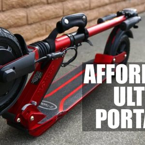 The Affordable Ultra-Portable Electric Scooter | Uscooters (E-Twow) Booster Sport Review