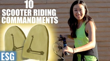 10 Commandments of Scooter Riding   Electric Scooter Guide