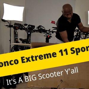 2021 Bronco Extreme 11 Sport | UnBoxing