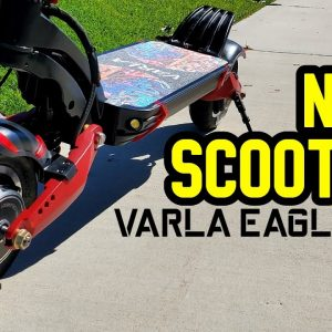 My New 40 MPH Electric Scooter! Varla Eagle One First Impressions and Unboxing