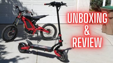 +40mph E-Scooter // Varla Eagle One // Unboxing and Review