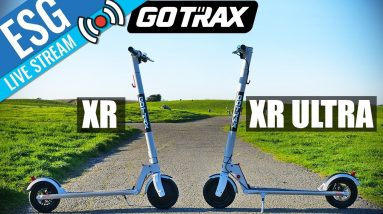 Scooter Live Chat #25 - GOTRAX NEW SCOOTERS XR & XR ULTRA WITH DIR OF MARKETING LIVE VIA SKYPE