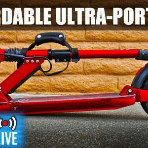 Affordable Ultra-Portable Uscooters (E-twow) Booster Sport | ESG Live #35