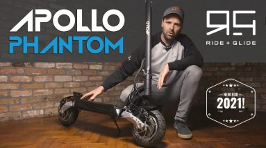 Apollo Phantom Electric Scooter Review - The range surprised us!