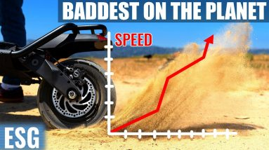 Baddest Scooter On The Planet   Kaabo Wolf Warrior 11 Review