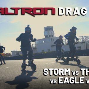 Battle of the Dualtrons - Storm vs Thunder vs Eagle vs Mini