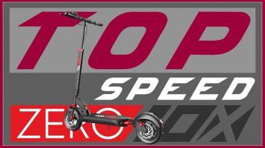 Big Guy Zero 10x Electric Scooter Top Speed Test