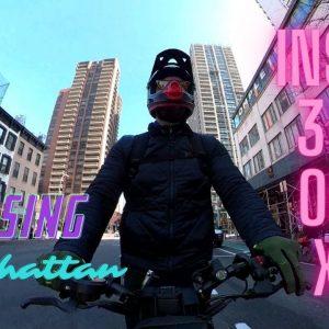 Cruising Manhattan on Electric Scooter | KAABO MANTIS 8 | 360 4K