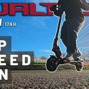 Dualtron Mini Top Speed Run on a Pro Race Track