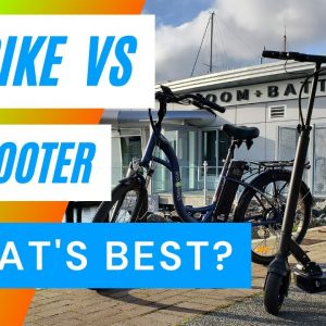 Electric Bike or Electric Scooter: Which is Better for You in 2021?