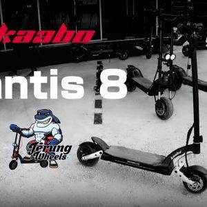 Elektrik skuter | Electric scooter | KAABO |MANTIS 8 | 1st impression