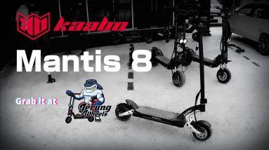Elektrik skuter   Electric scooter   KAABO  MANTIS 8   1st impression