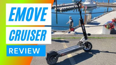 eMove Cruiser Review - Best Scooter Ever?