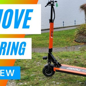 Emove Touring Electric Scooter Review 4K - Another Big Guy Review
