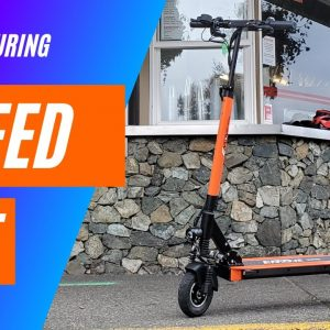 Emove Touring Electric Scooter Speed Test 4K