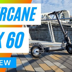 Mercane MX60 Electric Scooter Review 4K - Big Guy Electric Scooter Review