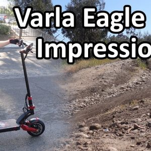 FIRST IMPRESSIONS!! | Varla Eagle One Electric Scooter!