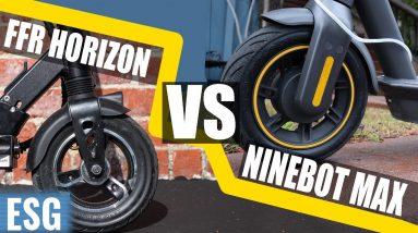 Fluid Freeride Horizon vs. Segway Ninebot Max | Scooter Showdown