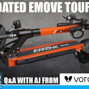Featuring Updated Emove Touring, Special Guest: AJ from Voro Motors| Live Show #46
