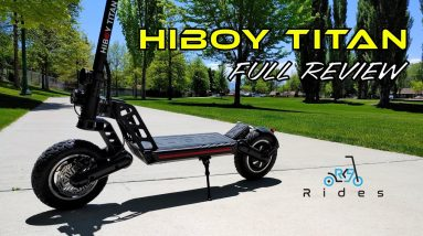 Hiboy Titan Full Review! 25+ MPH Scooter Under $1000