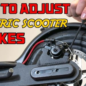 How to Adjust Disc Brakes on an Electric Scooter | ESG Labs