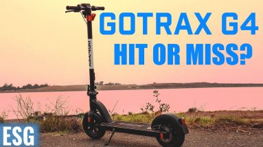 Hyped up scooter: Hit or Miss?   Gotrax G4 Review