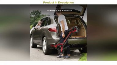 "Unboxing Kaabo Mantis 10 Kickscooter 10"" 48v 500w /800w Single Motor 13ah /18.2ah Battery Smart Ele"