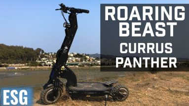 Roaring Beast Scooter, The Currus Panther First Look | Electric Scooter Guide