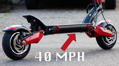INSANE 40 MPH E-SCOOTER (Varla Eagle One Unboxing)