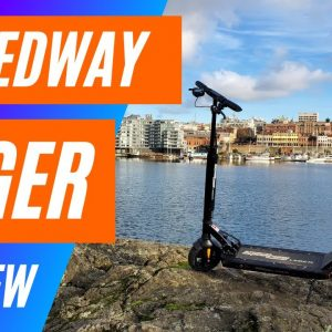 Is it any Good? Speedway Leger Electric Scooter Review - Big Guy Review