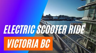 Watch this Ride through Victoria BC on an Electric Scooter - Zero 9 - Filmed in 4K