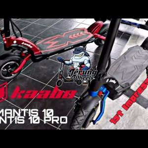 Elektrik skuter | Electric scooter | KAABO | MANTIS 10 & MANTIS 10 PRO | 1st impression