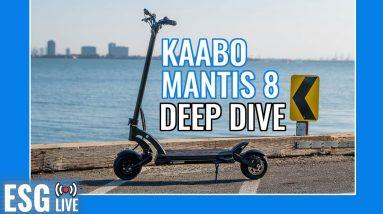 Kaabo Mantis 8 Deep Dive   Live Show #61