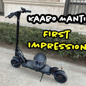 Kaabo Mantis Base First impressions: What is this 40MPH Scooter like?
