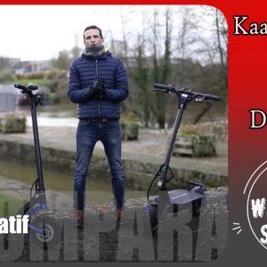 Kaabo Mantis Gt v2 vs Dualtron 3   Trottinette électrique