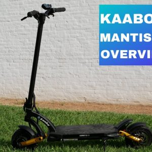 Kaabo Mantis Pro SE Electric Scooter Review of Features.