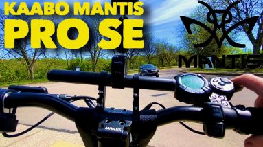 Kaabo Mantis Pro SE First Ride I'm Blown Away 37 Miles per Hour