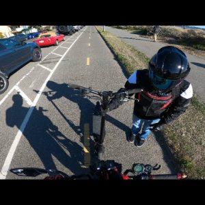 Kaabo Mantis & Wolf Warrior 11 First ride & Crash 15 miles in!🤕