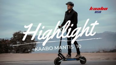 Kaabo USA Mantis 10 Introduction | Sport Performance E-Scooter