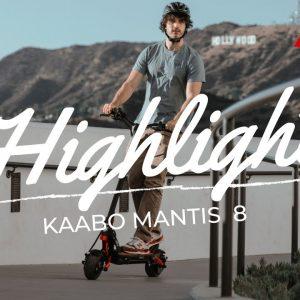 Kaabo USA Mantis 8 Introduction | Compact Performance E-Scooter