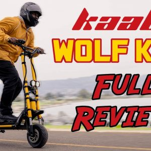 Kaabo Wolf King Review | Is This 60 MPH Scooter the Best at Everything?