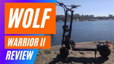 Kaabo Wolf Warrior 11 review - Wolf Warrior II  - Electric Scooter Review