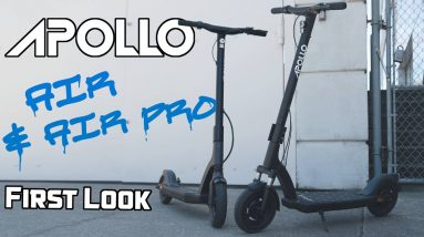 Exclusive First Look of the Apollo Air + Air Pro | What's It Like to Ride Them?