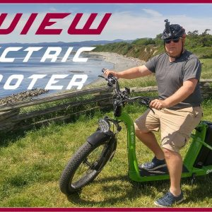 One of a Kind - Super Glide 4.0 Electric Scooter Big Guy Review