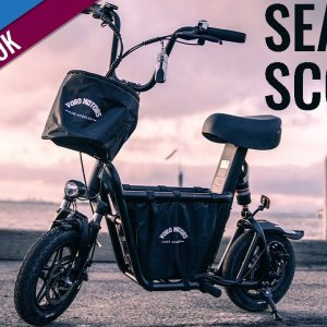 FIVE scooter riders try a SEATED SCOOTER 🪑🛴 for the FIRST TIME!  | Fiido QS1 First Look