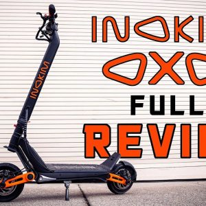 Why the Newest Exotic Electric Scooter is So Close to Perfect | INOKIM OXO SCOOTER REVIEW