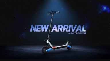 Perfect City Commuter Electric Scooter For Heavy Duty | Varla Pegasus