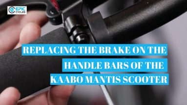 Replacing the Brakes on the Handle Bars of your Kaabo Mantis Pro Scooter